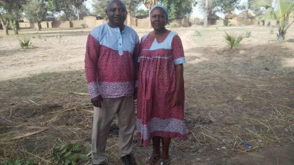 Bro. Franklin and Sister Eve Yebga