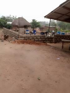 Okortobu church construction.